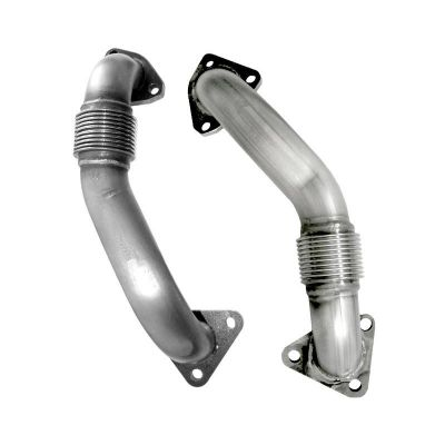 PPE 116120000 High Flow Up Pipes |2001-2016 GM 6.6L DURAMAX|