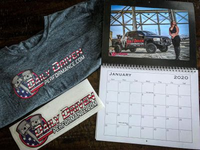 Daily Driven Performance Calendar / Shirt Combo Pack