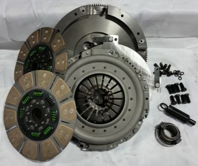 VALAIR 650HP QUIET DUAL DISC CLUTCH KIT |2000-2005 DODGE CUMMINS 5.9L NV5600|