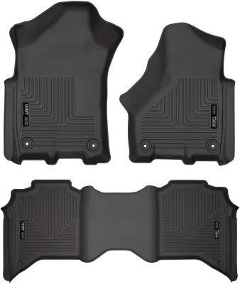 HUSKY LINERS FRONT & 2ND SEAT  FLOOR LINERS |2019-2020 RAM 2500/3500 CREW CAB|