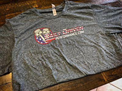 Daily Driven Mens T-Shirt Hammered Grey