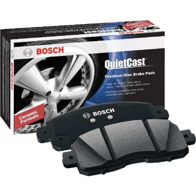 BOSCH BP757 QUIETCAST PREMIUM DISC BRAKE PADS (REAR) |2001-2004 Ford F250/350 4WD|