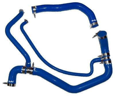 PPE PERFORMANCE SILICONE UPPER AND LOWER COOLANT HOSE KIT BLUE |2001-2005 DURAMAX 6.6L|