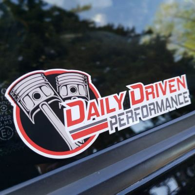 Daily Driven Stickers