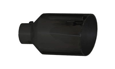 "PYPES MONSTER BLACK EXHAUST TIP |5"" Inlet to 10"" Outlet, 18"" in Length
