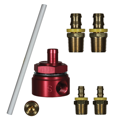FASS STK-1002 SUCTION TUBE KIT W/BULKHEAD FITTING FOR FASS TITANIUM FUEL SYSTEMS