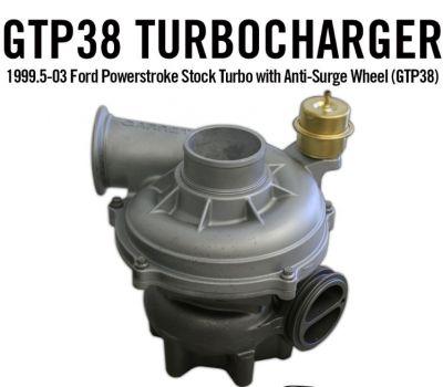 High Tech Turbo GTP38 Turbocharger  1999.5-2003 Ford 7.3L Powerstroke 1831454R