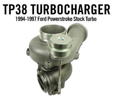High Tech Turbo TP38 Stock Turbocharger  1994-1997 7.3L Ford Powerstroke  170308