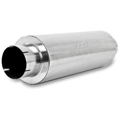 "MBRP ALUMINIZED QUIET TONE MUFFLER |5"" EXHAUST SYSTEMS
