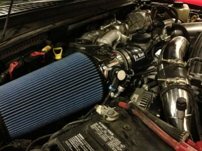 NO LIMIT FABRICATION COLD AIR INTAKE |2008-2010 6.4L POWERSTROKE|