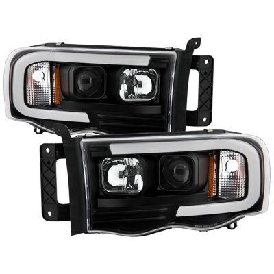 SPYDER AUTO BLACK PRO LED HEADLIGHTS  2003-2005 DODGE RAM 1500/2500/3500 