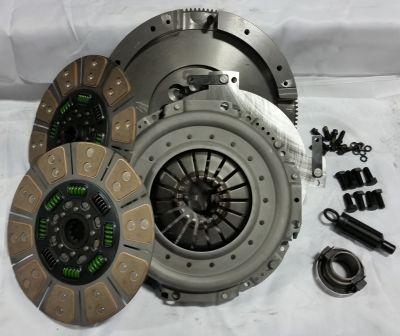 VALAIR 650HP QUIET DUAL DISC CLUTCH KIT |2000-2005 DODGE CUMMINS 5.9L NV5600|
