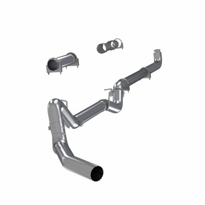 "MBRP 4"" DOWNPIPE BACK EXHAUST SYSTEM NO MUFFLER 