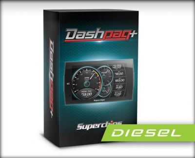 SUPERCHIPS DASHPAQ+ IN-CAB TUNER & MONITOR |2003-2012 DODGE CUMMINS 5.9L/6.7L|